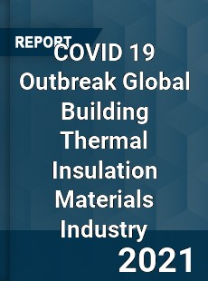 COVID 19 Outbreak Global Building Thermal Insulation Materials Industry