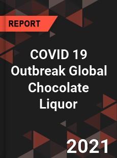 COVID 19 Outbreak Global Chocolate Liquor Industry