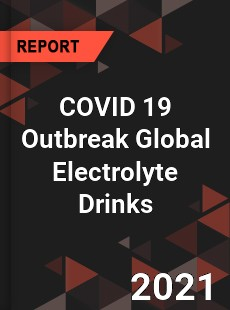 COVID 19 Outbreak Global Electrolyte Drinks Industry