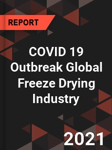 COVID 19 Outbreak Global Freeze Drying Industry