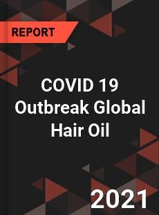 COVID 19 Outbreak Global Hair Oil Industry