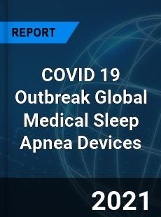 COVID 19 Outbreak Global Medical Sleep Apnea Devices Industry