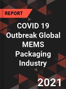 COVID 19 Outbreak Global MEMS Packaging Industry