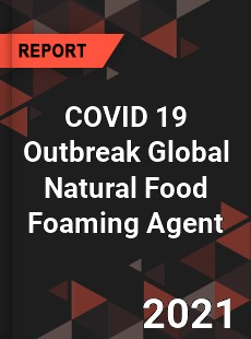 COVID 19 Outbreak Global Natural Food Foaming Agent Industry