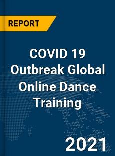 COVID 19 Outbreak Global Online Dance Training Industry