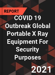 COVID 19 Outbreak Global Portable X Ray Equipment For Security Purposes Industry