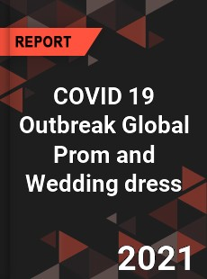 COVID 19 Outbreak Global Prom and Wedding dress Industry