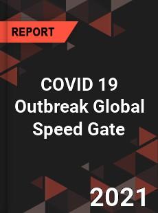 COVID 19 Outbreak Global Speed Gate Industry