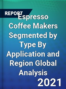 Espresso Coffee Makers Segmented by Type By Application and Region Global Analysis
