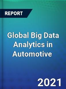 Global Big Data Analytics in Automotive Market