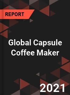Global Capsule Coffee Maker Market