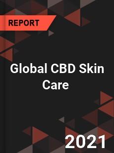 Global CBD Skin Care Market