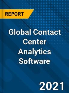 Global Contact Center Analytics Software Market
