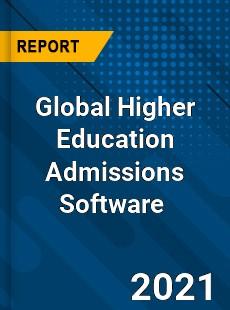 Global Higher Education Admissions Software Market