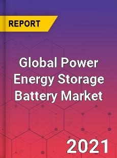 Global Power Energy Storage Battery Market