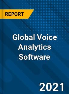 Global Voice Analytics Software Market